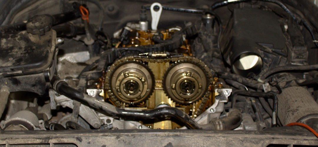 Разбираем ГРМ 271 двигатель C180 W204