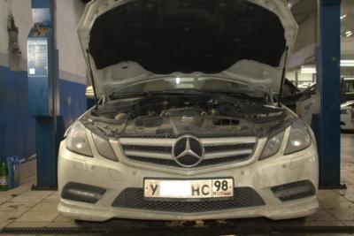 Замена корпуса масляного фильтра Mercedes-Benz