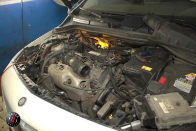 Замена термостата Mercedes B200