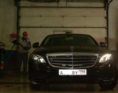 Мойка Mercedes-Benz