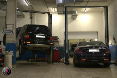 Обслуживание Mercedes-Benz