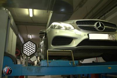 Развал-схождение Mercedes W212